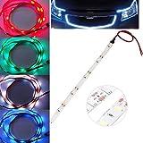 ZHUOTOP 4 Colors 25CM 15 LED SMD 5630 Car Auto Flexible Waterproof Strip Light Lamp DIY