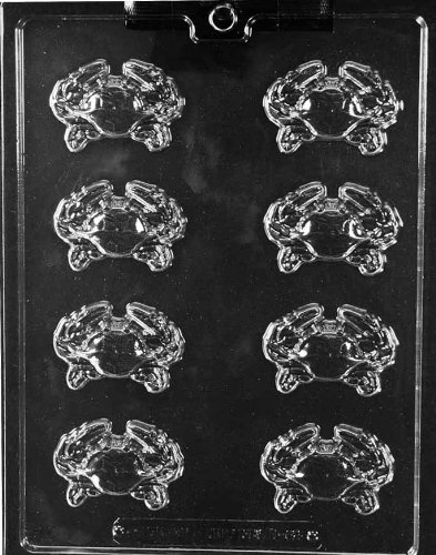Crab Pieces Chocolate Mold - N062 - Includes Melting & Chocolate Molding Instructions