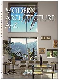 Modern architecture A-Z par  Taschen