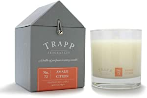 Trapp 7oz Signature Home Collection Poured Scented Candle, No. 72 Amalfi Citron
