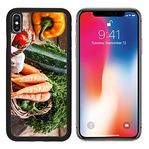 - MSD Premium Apple iPhone X Aluminum Backplate Bumper Snap Case IMAGE ID: 27585623 various kinds of vegetables in a basket
