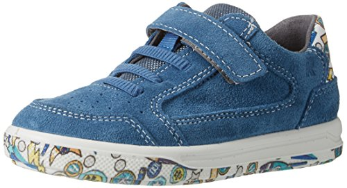 Ricosta Jungen Flo Low-Top Blau (petrol/multi)