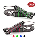 Best Jump Rope - 10fts - Jump Rope Workout Tangle Free with Anti-Slip Handles Review