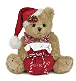 Bearington Jolly Jingles Christmas Stuffed Animal Teddy Bear 10""
