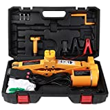 Electric Car Jack 3 Ton by ROGTZ DC 12v All-in-one Automatic SUV Lift Scissor Jack Car Repair Tool
