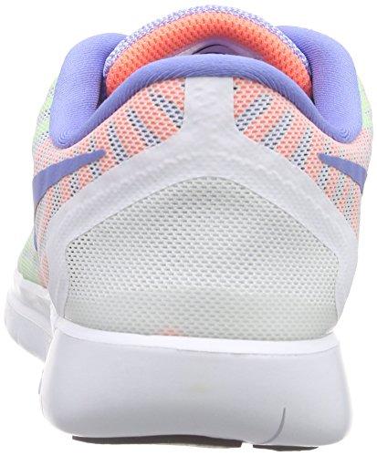 Nike Kids Free 5.0 Scarpa Da Corsa Bianco / Gesso Blu / Volt / Bianco