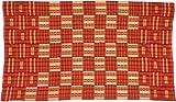 Fair Trade African Ghana Kente Cloth, 65'' Across Approximately, 7710