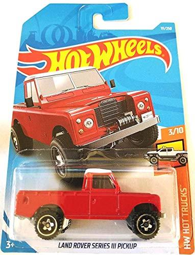 Hot Wheels 2019 HW Hot Trucks Land Rover Series III Pickup 111/250, Red