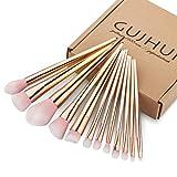 Makeup Brush Set - Sandistore Professional Cosmetic Brush Set Foundation Eyebrow Eyeliner Blush Cosmetic Concealer Brushes (RoseGold)