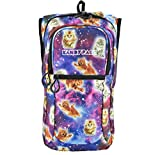 KANDYPACK Rave Hydration Pack Backpack with Water Bladder (Galaxy Cat)