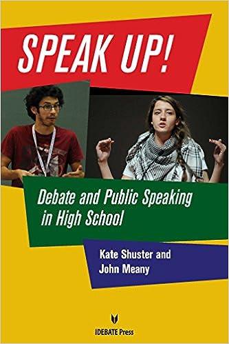 Speak Up Book