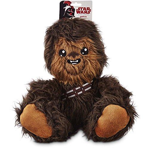Star Wars Chewbacca Plush Dog Toy  Medium  10 Inches Tall