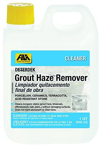 Fila Deterdek Stone Cleaner - Stone Grout Haze Remover - 1 QUART