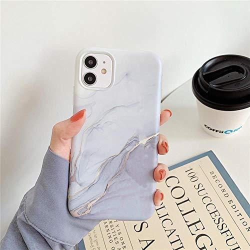Marmol grieta Mate Cajas del telefono de iPhone Mini 12 12 12 Pro Pro Pro MAX 11 MAX SE 2020 XS MAX XR X 7 8 Plus Cubierta de la Caja de Silicona Suave de TPU,yo,para el iPhone 12