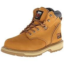 "Timberland PRO 33031 Mens Pit Boss 6"" Steel Toe Work Boots (Wheat, 11 M US)"