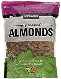 Kirkland Signature Dry Roasted Almonds Seasoned