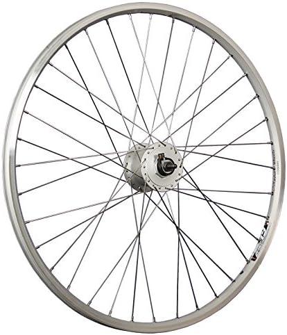 Taylor-Wheels 26 pouces roue avant vélo chambre creuse moyeu dynamo argent