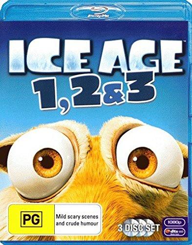 Ice Age 1, 2 & 3   3 Discs   NON-USA Format   Region B Import - Australia