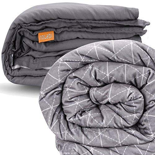 - rocabi 20 lbs Adult Weighted Blanket & Two Cover Set (60