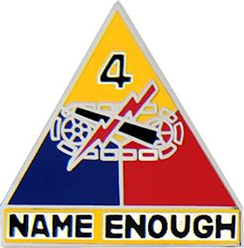 4th Armored Division Small Hat Pin (Armored Division Small Hat Pin)