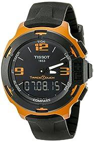 Tissot Men's T0814209705703 T-Race Touch Aluminum Watch with Black Band