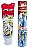 adult fruit toothpaste - Colgate Minions Mild Bubble Fruit Fluoride Toothpaste, 4.6 oz + Colgate Despicable Me Minions Kids Toothbrush