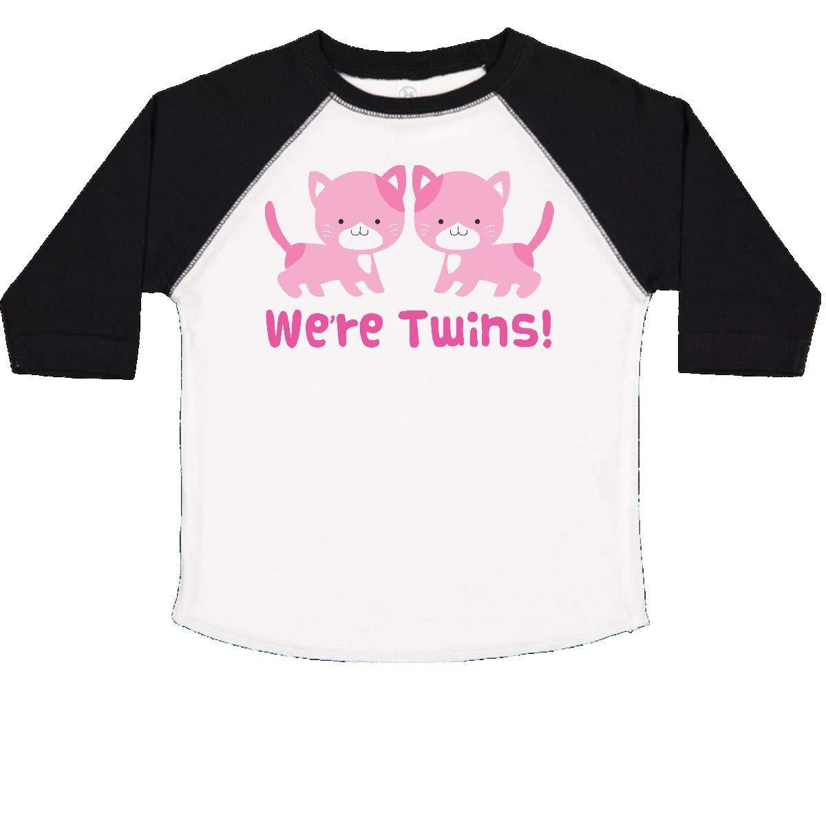 inktastic Twin Girl Kittens Toddler T-Shirt