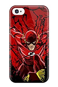 YaMSGHb2007ZjfBV AnnaSanders Awesome Case Cover Compatible With iPhone 6 plus 5.5 - The Flash