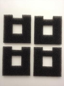 finest-filters 4x Compatibles Fluval Chi–Repuesto para filtros de espuma