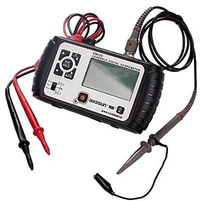 Mini Oscilloscope 25Mhz Multimeter EM125 2 IN 1 Handheld Digital Scopemeter