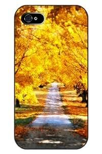 THYde SPRAWL iPhone 6 plus 5.5 Case Scenery Clear Print Hard Plastic Snap on Uniqe Design -- Sunny Autumn ending