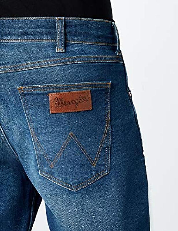 Wrangler Greensboro spodnie męskie - 42W / 34L: Odzież