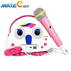 Kids Bluetooth Karaoke Machine