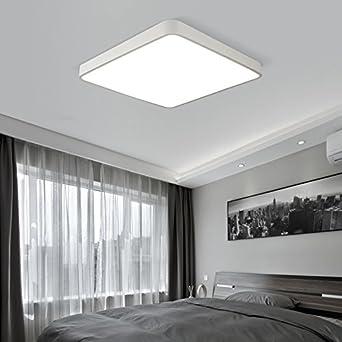 Deckenlampe Deckenleuchten Fixture Ultra Dünne LED Deckenleiste Wohnzimmer  Moderne Deckenleuchten Fernbedienung Elektrodeless Dimmen Deckenleuchter