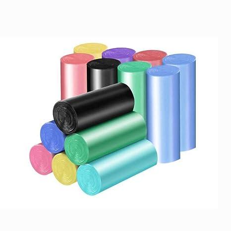 HZTWS Bolsa de Basura, Color portátil, Bolsa de Limpieza de ...