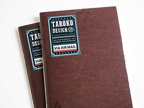 Taroko Design Tomoe River 52gsm Regular Size 96-Pages Notebook, 2-Pack, Dots, White