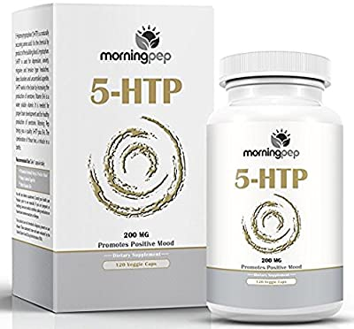 5-HTP Supplement 200mg Per Caps with added Vitamin B6 By Morning Pep, 5 HTP Is A Natural Appetite Suppressant That Helps Improve Your Overall Mood Relaxation And A Restful Sleep