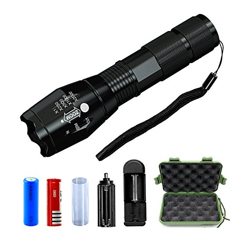 RC Rechargeable Flashlight Adjustable Resistant product image