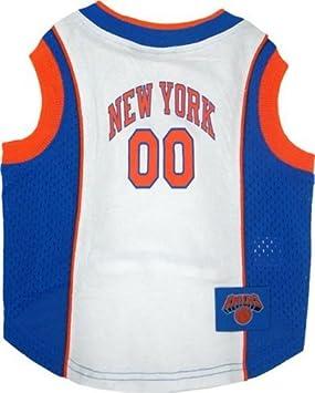 NBA mascotas camiseta de tirantes de malla, tamaño mediano, nueva york knicks por mascotas primer: Amazon.es: Productos para mascotas
