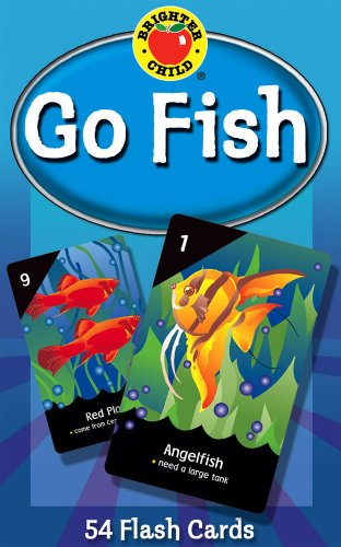 Carson Dellosa - Go Fish Card Game for Kids - Grades PreK - 2, Play Memory / Matching Games, Science Facts for Toddlers, Ages 4+ (Brighter Child Flash Cards)