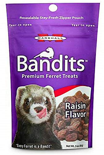 Marshall Bandits Ferret Treat Raisin 1.875lbs 10 x 3oz