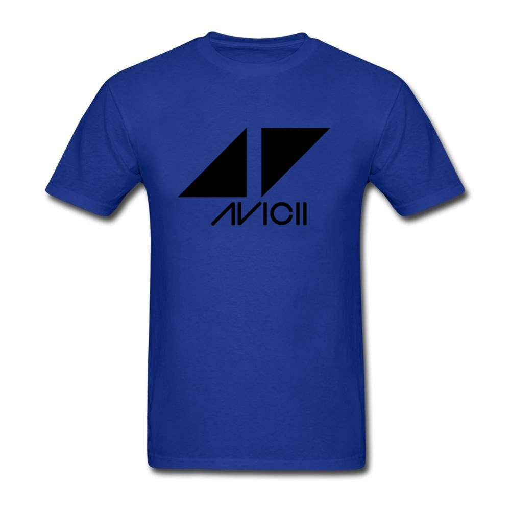 bdfa44ca Amazon.com: Nine P Men's DJ Avicii Logo T Shirts: Clothing