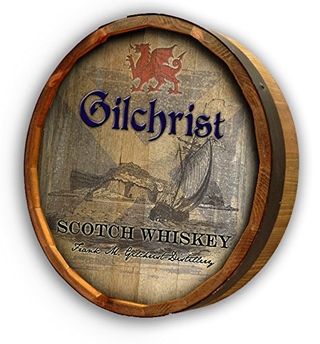 Personalized Scotch Quarter Barrel Sign (Quarter Wine Barrel compare prices)