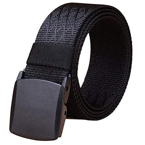 Best Review Of Fairwin Tactical Rigger's Belt, Military Style Webbing Riggers Nylon Web Belt with He...