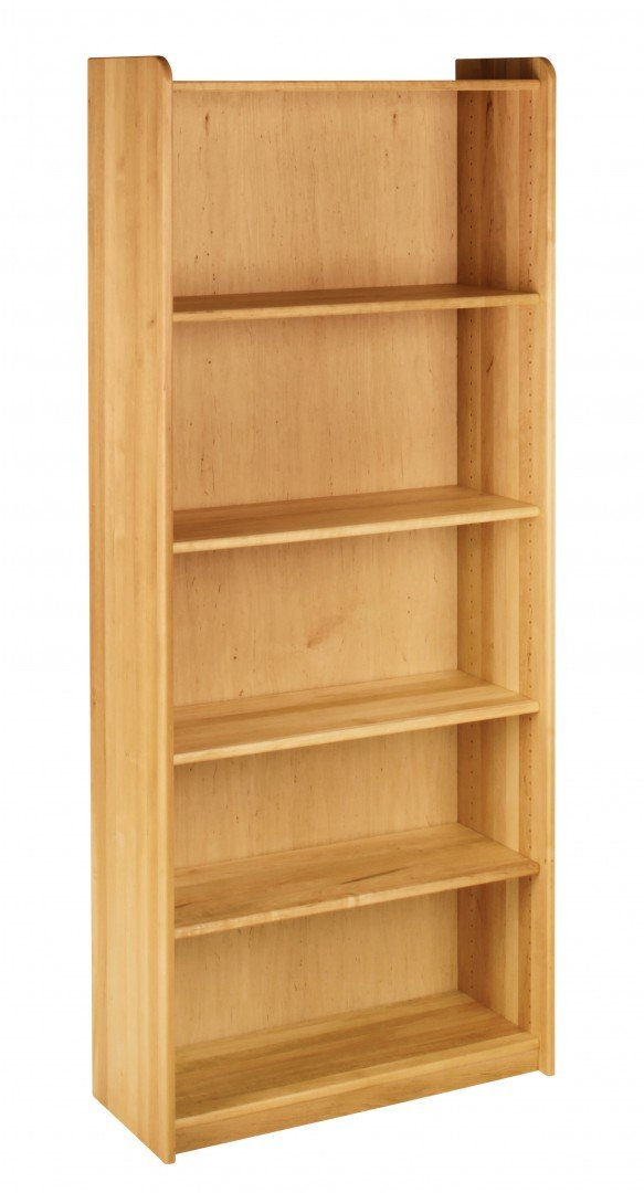 BioKinder 22135 Lara Regal Bücherregal aus Massivholz 200 x 84 x 35 cm