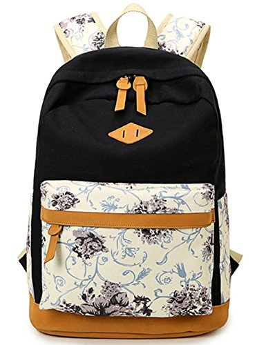 Canvas Backpack Casual BookBag Daypack product image