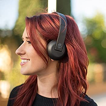 Skullcandy Uproar Bluetooth Wireless On-ear Headphones With Built-in Microphone & Remote, 10-hour Rechargeable Battery, Soft Synthetic Leather Ear Pillows For Comfort, Black 2