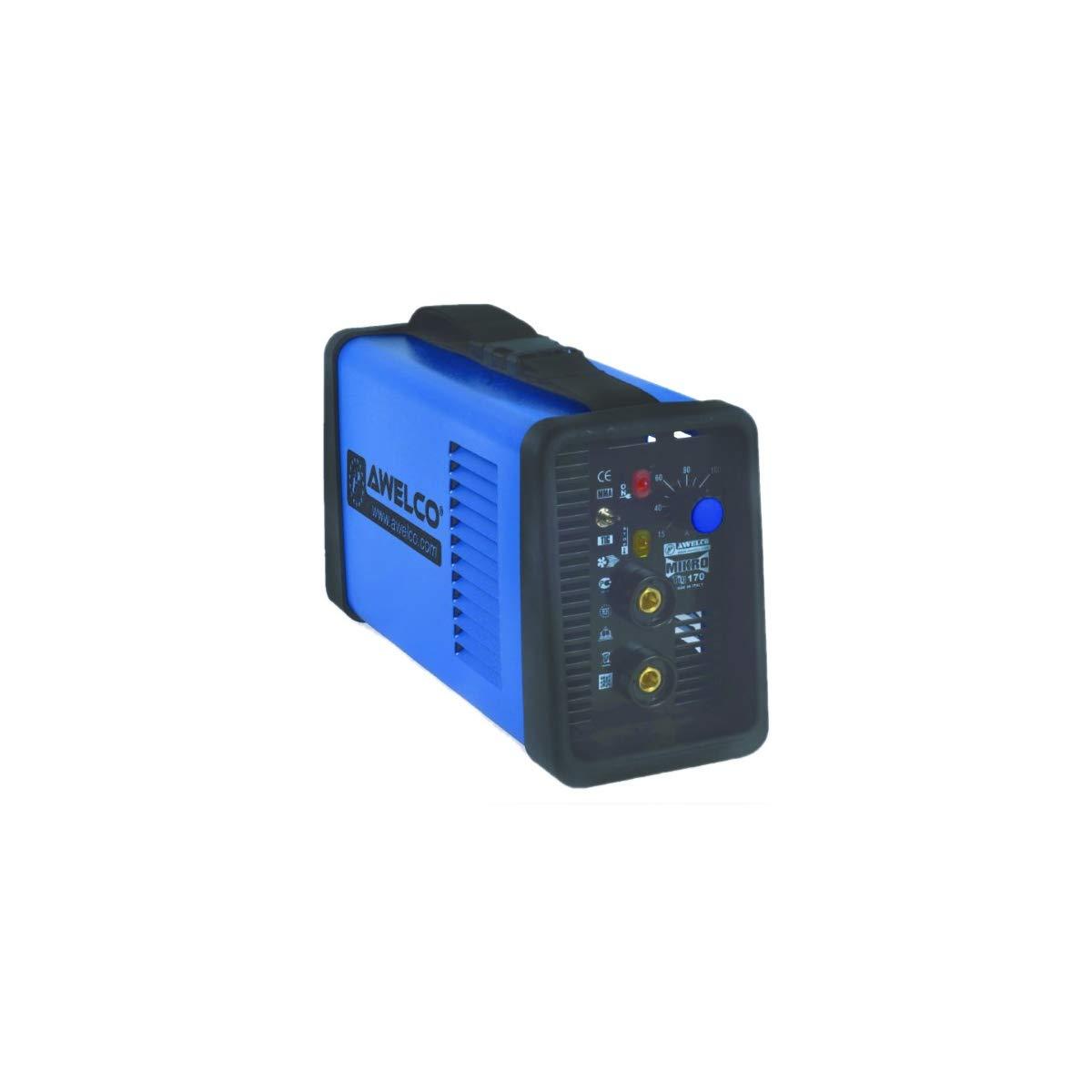 Estación de soldadura MMA TIG LIFT - Equipo de soldadura, Mikrotig 170, antorcha TIG con válvula, descomprensor, Elect MMA, tungsteno, capucha LCD: ...