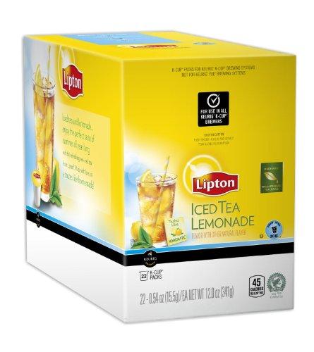 Lipton Iced Tea Lemonade 88 K Cup Packs by Lipton
