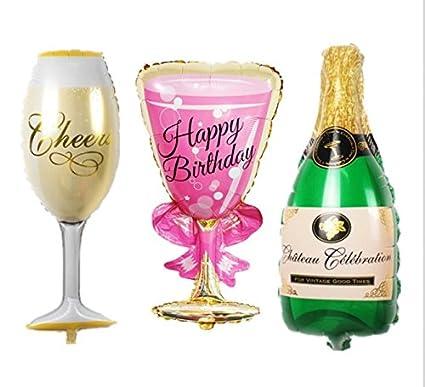 amazon com urtoys 6pcs large champagne cheers wine glass wedding